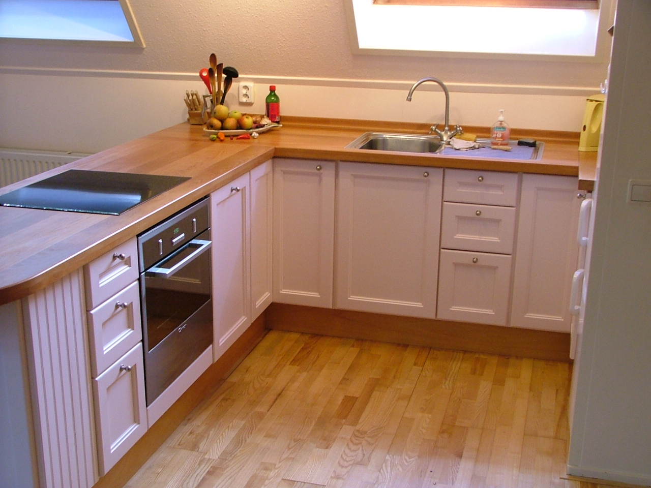 Maatwerk keuken in landelijke stijl.