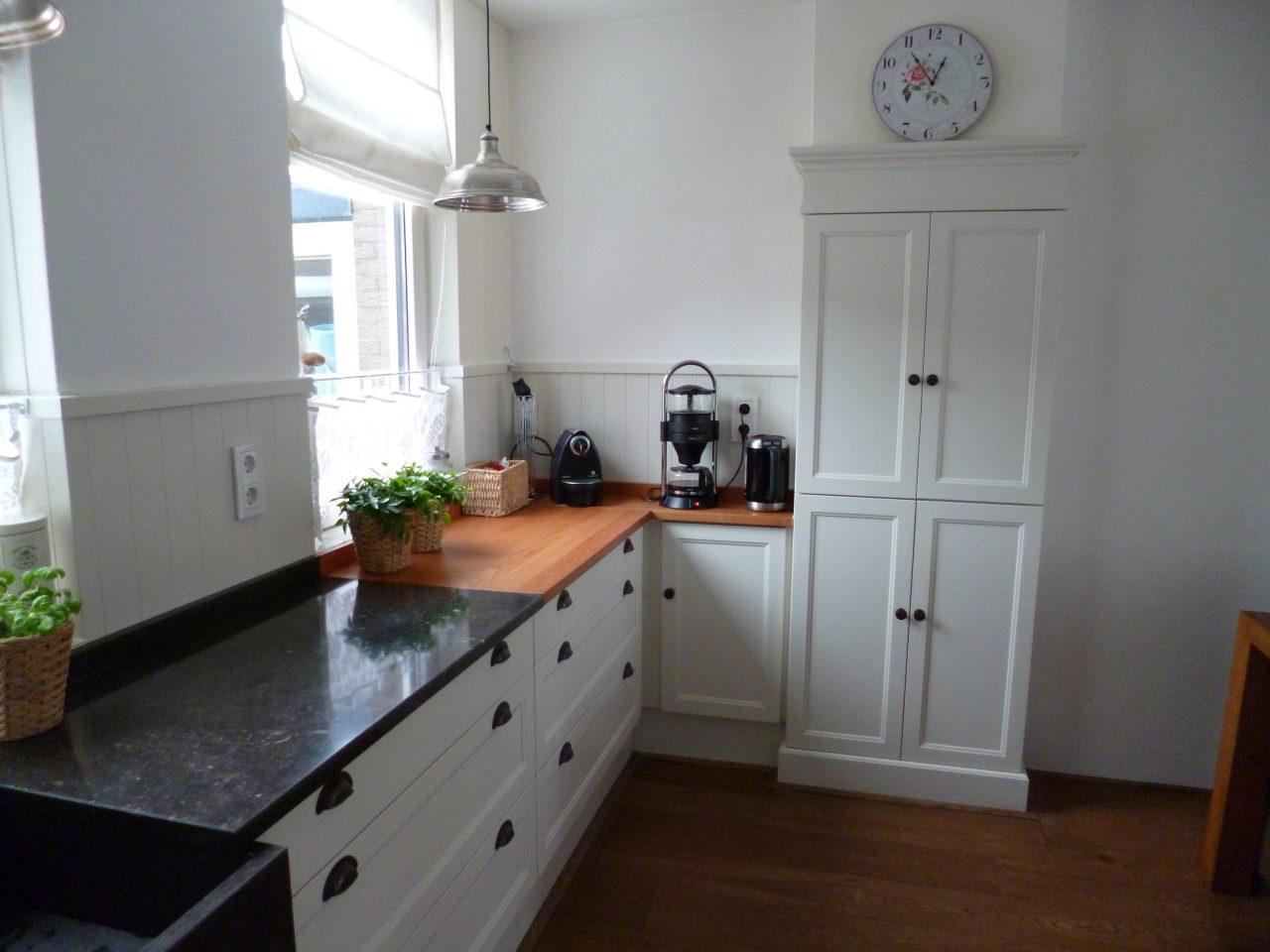 Keuken op maat met tijdloos landelijk design.